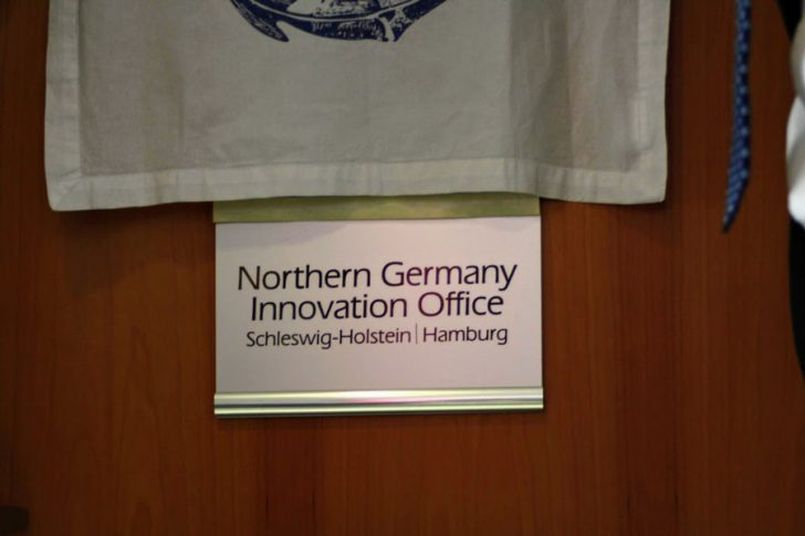 Northern Germany Innovation Office - Türschild